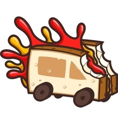 Cool Food Truck vector