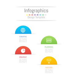 infographic design elements for your business vector image