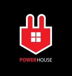 Power house logo vector