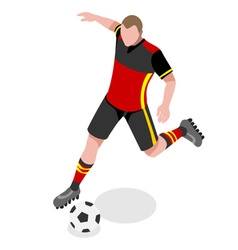 Soccer 2016 Sports Isometric 3D vector