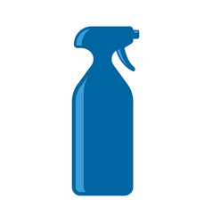 spray icon colored on white vector image