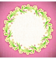 Pattern flower Background april web vector image vector image