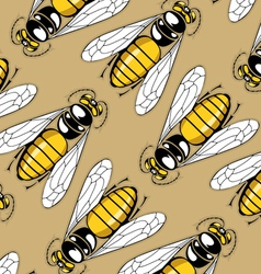 cartoon sting pattern background in vector image
