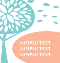 nature template vector image vector image