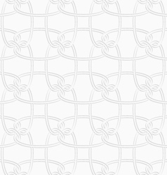 3d circular interlocking ornament vector