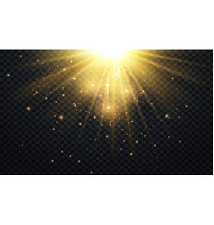 abstract light overlay effect on transparent vector image
