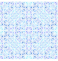 Blue abstract seamless curved shape kaleidoscope vector