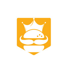 Burger Crown King Vector Images Over 180