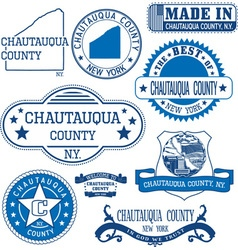 Chautauqua county New York vector