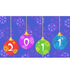 Chrismas new years cartoon vector