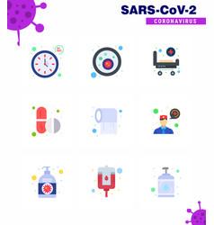 coronavirus 2019-ncov covid-19 prevention icon vector image
