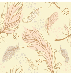 Feathers seamless vector