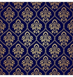 Seamless pattern background in Arabian style vector image