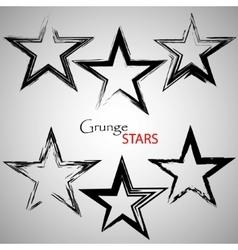 Set grange stars vector