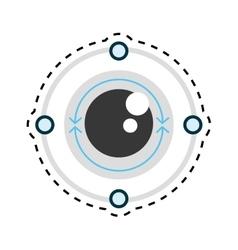 Vr eye tracking innovation technologies vector