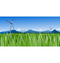Wind Farm vector