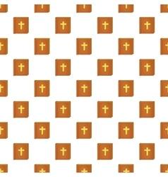 Bible pattern cartoon style vector