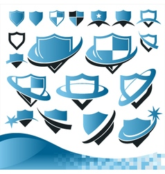 Shield Security Collection vector image