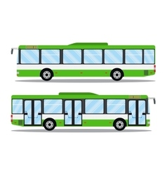 City transit shorter distance bus vector