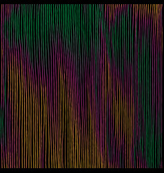 hand drawn vertical parallel thin black lines on vector image