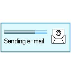 Process sending emails vector