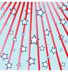 rays and stars vector image
