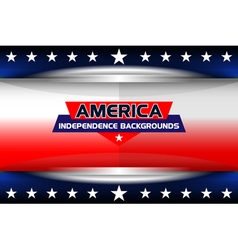 american template independence vector image vector image