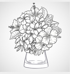 Flower Vase Drawing Vector Images Over 1 800