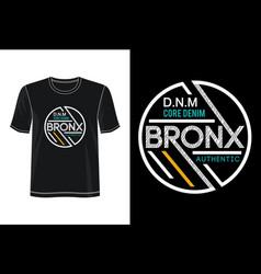 Bronx vector