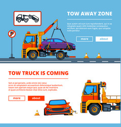 car accident in town of car vector image