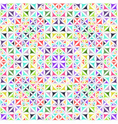 Colorful abstract seamless curved triangle vector
