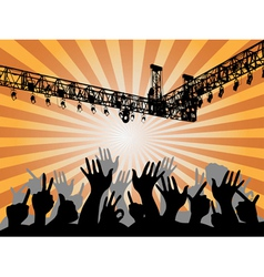 Concert Background vector