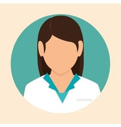 Female doctor design icon vector