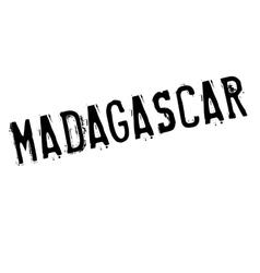 Madagascar stamp rubber grunge vector image