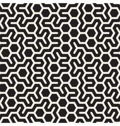 Seamless Black and White Irregular vector image