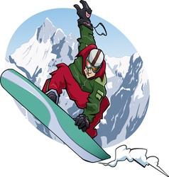 Snowboarding 2011 vector