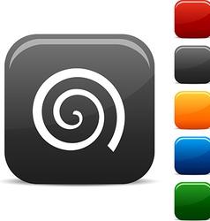Swirl icons vector image
