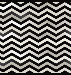 the twin black and white zigzag stripes floor vector image