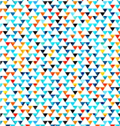 Watercolor textured triangle seamless vector