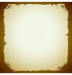 ancient paper vector image