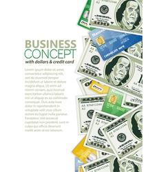 business frame vector image