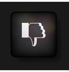 Dislike Button vector