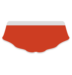 Female underwear image vector