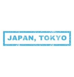 Japan Tokyo Rubber Stamp vector