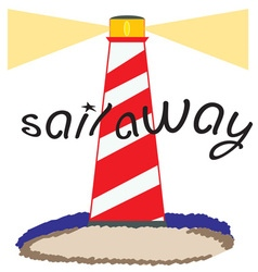 Sail Away vector