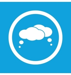 Thoughts sign icon vector