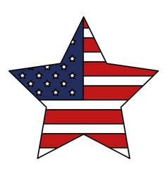 united states of asmerica emblem vector image