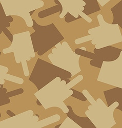 Military texture of Camouflage army seamless vector image vector image