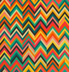 Abstract color vintage retro seamless pattern vector image