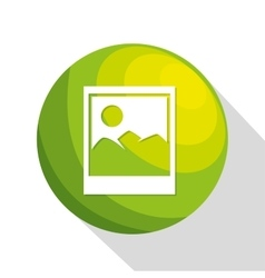icon image upload process design isolated vector image
